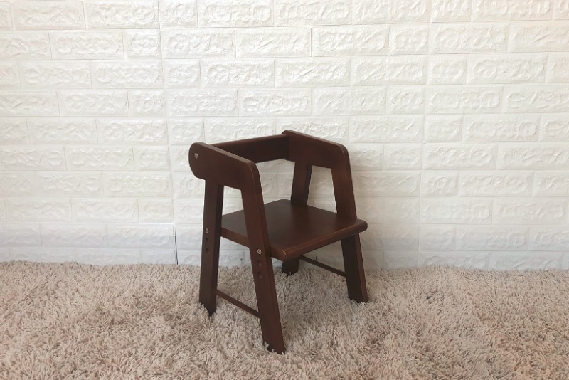 Baby Chair-Short-Brown