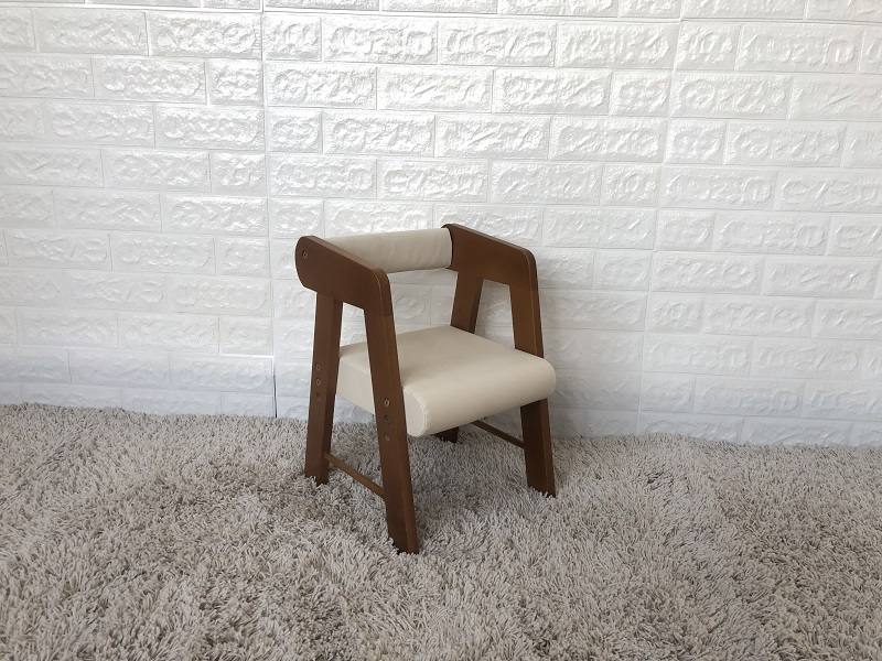 Baby Chair-Short Light Brown & soft seat